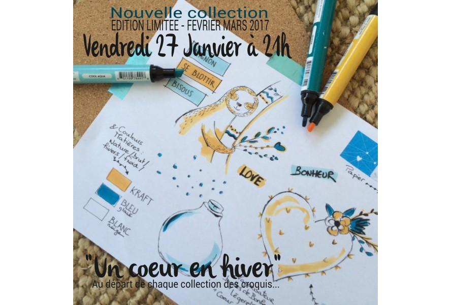 La choupinette Letter : Nouvelle collection le 27 Janvier !