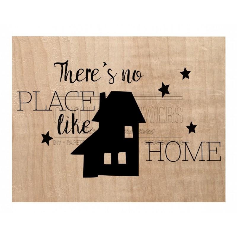 """Tampon bois """"Like home"""""""