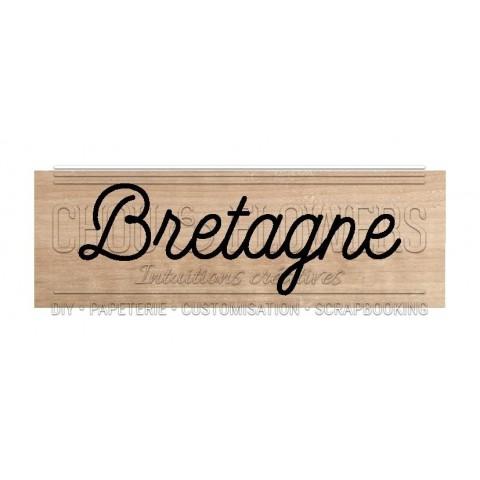 "Tampon bois ""Bretagne"""