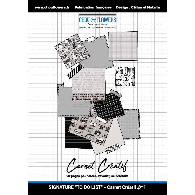 CARNET CREATIF 1, COLLECTION SIGNATURE DO TO LIST
