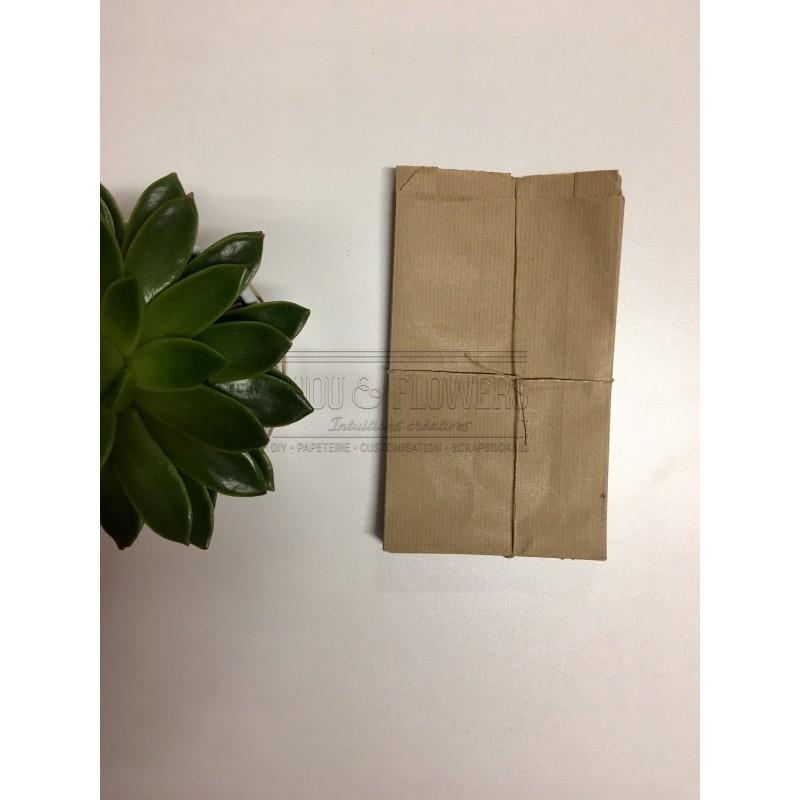 25 Sachets de papier kraft
