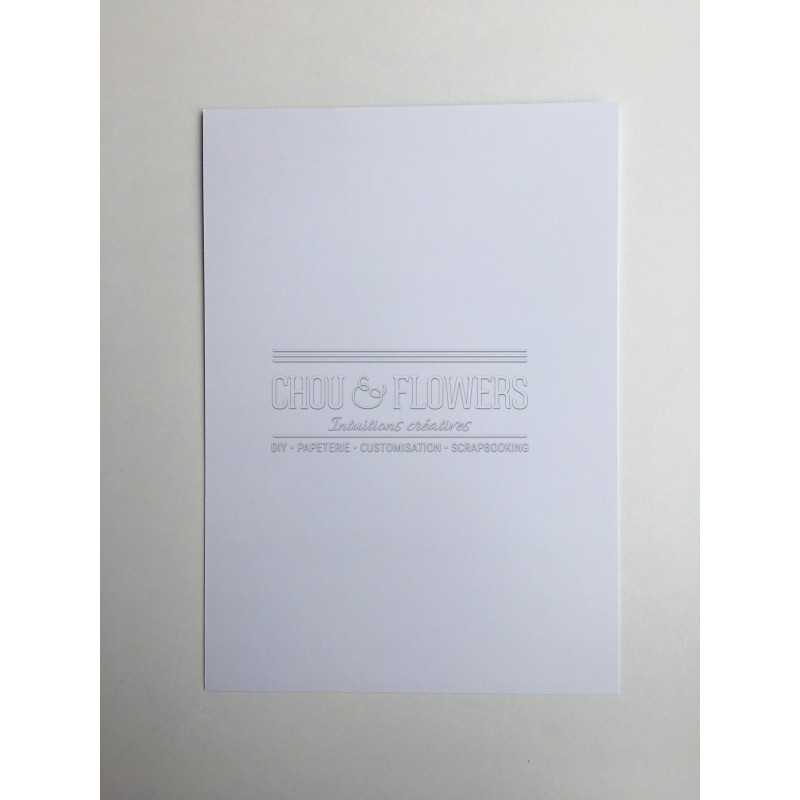 Pack de 6 papiers lisses extra blanc
