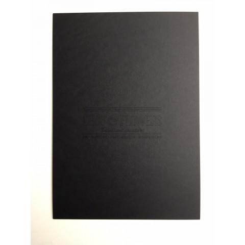1 papier cartonné noir