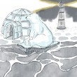 TAMPONS CLEAR IGLOO