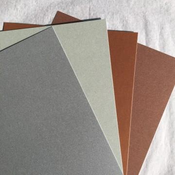 Pack de 4 papiers PRECIOUS METALS