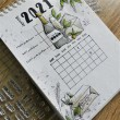 TAMPON CLEAR CALENDRIER PERPETUEL