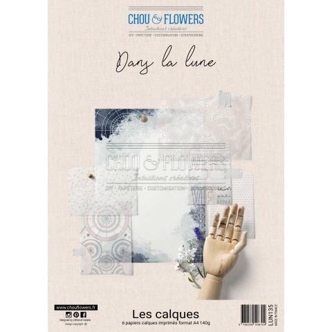 COLLECTION PAPIER CALQUE A4 DANS LA LUNE