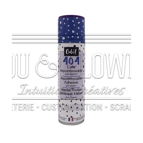 COLLE REPOSITIONNABLE SPRAY 404
