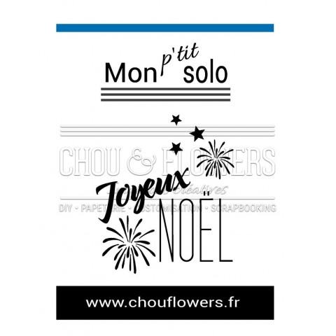 "SOLO "" Joyeux Noël feu d'artifice"""