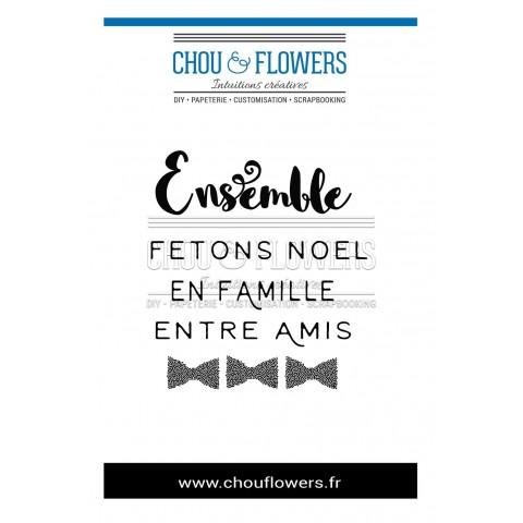 """TAMPON """" Ensemble Noël"""""""