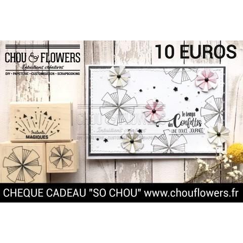 CHEQUE CADEAU 10 EUROS