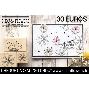 CHEQUE CADEAU 30 EUROS