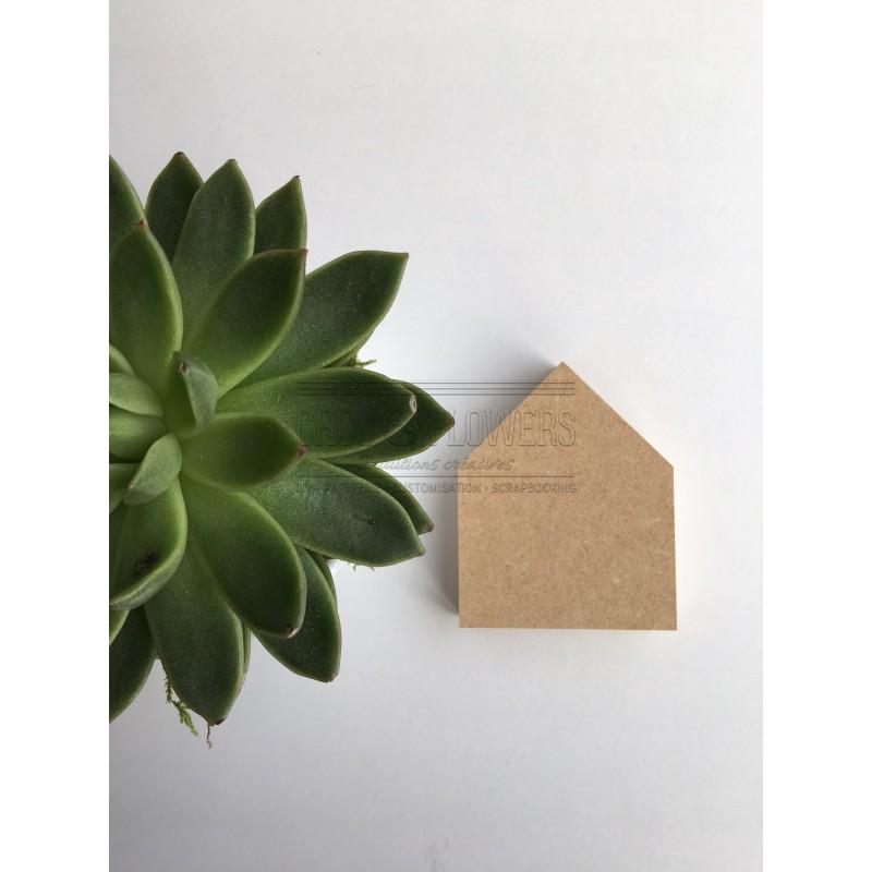 Petite maison en bois peindre ou a customiser pour vos projets de home d co - Petites maisons en bois ...