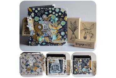 "Zoom Collection ""Esprit Folklore"" avec Claire Scrap at Home"